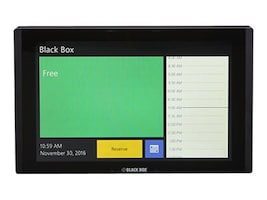 Black Box 12 In-Wall In-Session Room Scheduler, RS-TOUCH12-W, 34308775, Office Supplies