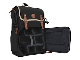 Accessory Genie GoGroove Full-Size DSLR Camera Backpack, Black, GGBCCBK100BKEW, 36550717, Carrying Cases - Camera/Camcorder