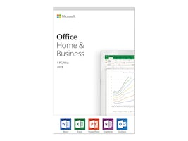 Microsoft Office Home and Business 2019 Medialess English NA PR TT Only, T5D-03203, 36224680, Software - Office Suites