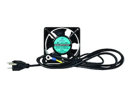 Innovation First Wallmount Fan, 120mm Integrated Grounding Cable, 180-5416, 35036564, Rack Cooling Systems