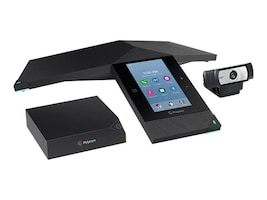 Polycom RPTrio Collaboration Kit w SfB O365 Lync, No Support Included, 7200-25500-019, 34350851, Audio/Video Conference Hardware