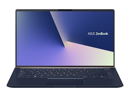 Asus Zenbook Core i7-8565U 1.8GHz 16GB 512GB PCIe ac BT WC 14 FHD W10-64 Dark Blue, UX433FA-DH74, 36254475, Notebooks