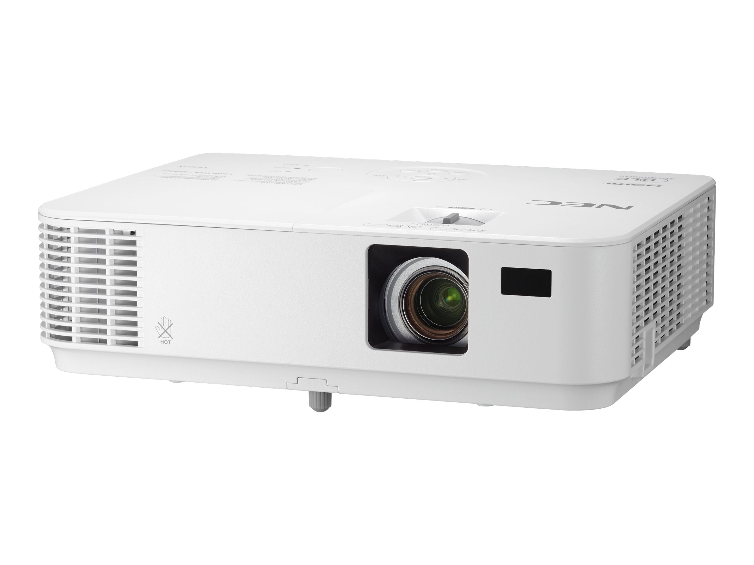 NEC NP-VE303X XGA 3D DLP Projector, 3000 Lumens, White, NP-VE303X, 31863571, Projectors