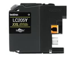 Brother Yellow LC205Y Super High Yield Ink Cartridge, LC205Y, 17539571, Ink Cartridges & Ink Refill Kits