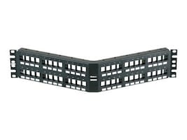 Panduit NetKey 48-Port Modular Flush Mount Patch Panel, NKPPA48FMY, 31611470, Patch Panels