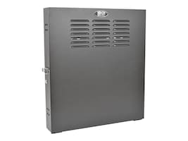 Tripp Lite SmartRack 2U Low-Profile Vertical-Mount Switch-Depth Wall-Mount Rack Enclosure Cabinet, SRWF2U, 31345255, Racks & Cabinets