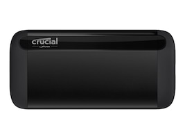 Crucial 500GB X8 Portable Solid State Drive, CT500X8SSD9, 37832863, Solid State Drives - External