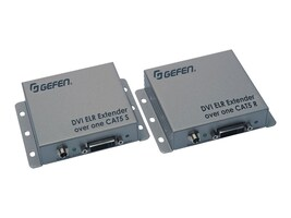 Gefen DVI ELR Extender over one CAT5, EXT-DVI-1CAT5-ELR, 17882556, Video Extenders & Splitters