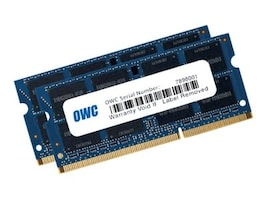 Other World OWC 8GB (2X 4GB) PC3-14900 DDR3 1867MHZ SO-DIMM 204 PIN CL11 MEMORY MO, OWC1867DDR3S08S, 36177043, Memory