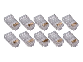 4Xem CAT5E Modular Plug for Stranded or Solid Cable, 1000-Pack, 4X1000PKC5E, 34198001, Cable Accessories