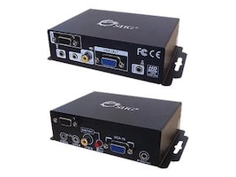 Siig VGA, RS-232 and Audio Cat5 Extender with RGB Delay Control, CE-VG0711-S1, 10779003, Video Extenders & Splitters