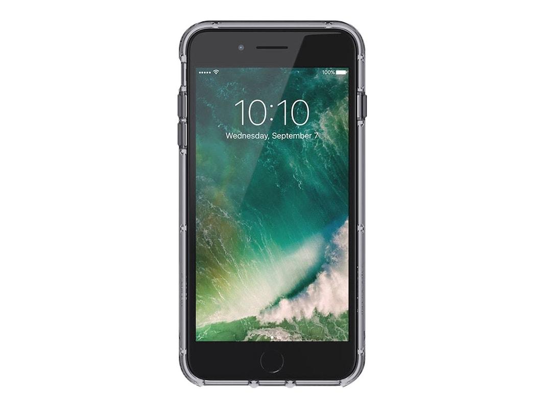 sale retailer 73089 ba1c7 Griffin Survivor Clear Case for iPhone 6 Plus 6s Plus 7 Plus 8 Plus, Space  Gray