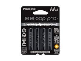 Panasonic Eneloop Pro Gen Purpose Batteries (8-pack), BK-3HCCA8BA, 32038329, Batteries - Other
