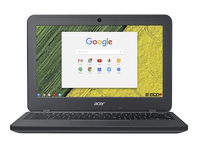 Acer Chromebook 11 N7 C731-C118 Celeron N3060 1.6GHz 4GB 32GB eMMC ac BT WC 11.6 HD Chrome OS, NX.GM8AA.006, 37383199, Notebooks