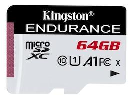 Kingston 64GB microSDXC Endurance Flash Memory Card, Class 10, SDCE/64GB, 36852361, Memory - Flash