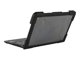 Max Cases HP Chromebook G6EE Clamshell Case, HP-ES-CBCEE-G6-BLK, 35451661, Carrying Cases - Notebook