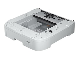 Epson Optional 500-Sheet Paper Cassette for WorkForce Pro WF-C869R Network Multifunction Color Printer, C12C932611, 34267803, Printers - Input Trays/Feeders