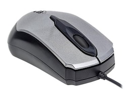 Manhattan USB Wired Mouse, Gray, 179423, 32464838, Mice & Cursor Control Devices