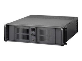 iStarUSA Chassis, 3U RM Compact Stylish Rackmount Chassis 4x5.25 bays 3x3.5 bays 7xExpansion slots, Black, D-300, 9080705, Cases - Systems/Servers