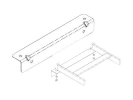 Chatsworth 10 Wall Angle Kit, White, 11421-210, 34895789, Rack Mount Accessories