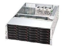 Supermicro SuperChassis, 4U RM, EATX, 24x3.5 SAS HS, 7xSlots, 920W RPS, Black, CSE-846BE16-R920B, 13894251, Cases - Systems/Servers