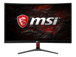 MSI 23.6 Optix G24C Full HD LED-LCD Curved Monitor, Black Red, OPTIXG24C, 35621350, Monitors