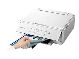 Canon PIXMA TS6120 Wireless Inkjet All-In-One Printer - White, 2229C022, 34522780, MultiFunction - Ink-Jet