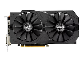 Asus STRIX-GTX1050TI-4G-GAMING Main Image from Front