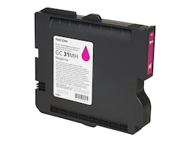 Ricoh Magenta GC 31MH High Yield Print Cartridge, 405703, 11139681, Ink Cartridges & Ink Refill Kits