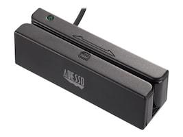 Adesso Magnetic Stripe Card Reader USB Standalone Bi-Directional 3-Track, MSR-100, 33708574, Magnetic Stripe/MICR Readers