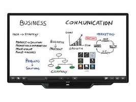 Sharp 80 PN-L803CA Full HD LED-LCD Touchscreen Display, Black, PN-L803CA, 34701606, Monitors - Large Format - Touchscreen/POS