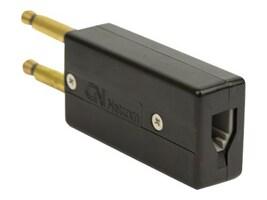 Jabra PJ327 Conversion Plug Standard RJ-9 Modular Plug to PJ327 Twin, 0220-649, 12541200, Headsets (w/ microphone)