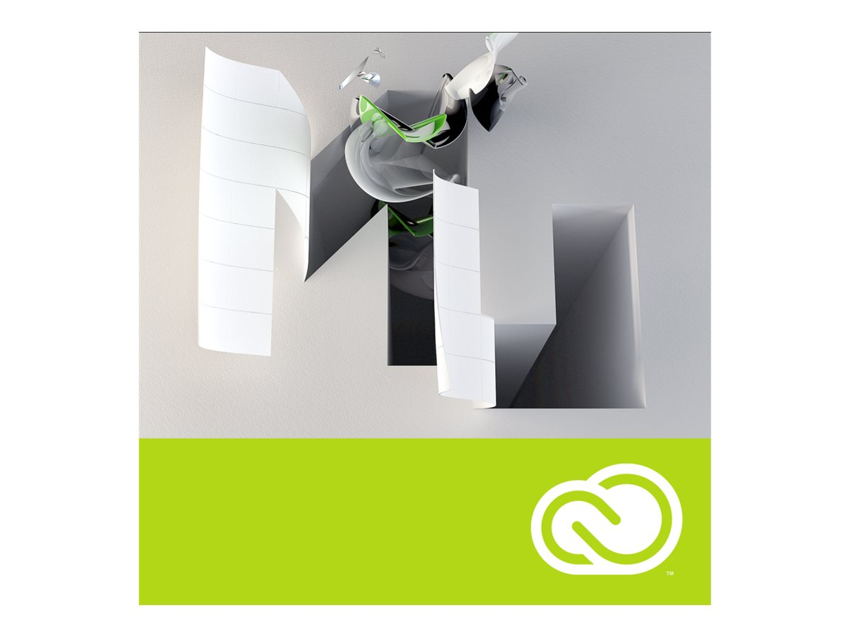 Adobe Corp. VIP Muse CC Multi Plat Lic Sub 1 User Level 1 1-9 12 mo., 65270354BA01A12, 31707092, Software - Programming Tools