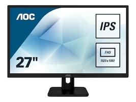 AOC 27 27E1H Full HD LED-LCD Monitor, Black, 27E1H, 35855877, Monitors