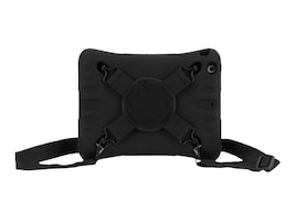 Griffin Survivor CrossGrip w  HandStrap for iPad mini 1 2 3, XX41953, 31635439, Carrying Cases - Tablets & eReaders