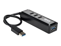 Tripp Lite 4-Port Portable USB 3.0 SuperSpeed Hub, U360-004-MINI, 17934408, USB & Firewire Hubs