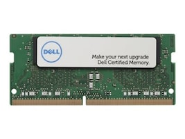 Dell 8GB PC4-19200 260-pin DDR4 SDRAM SODIMM for Select Models, SNPMKYF9C/8G, 34076901, Memory
