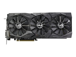 Asus ROG-STRIX-RX580-8G-GAMING Main Image from Front