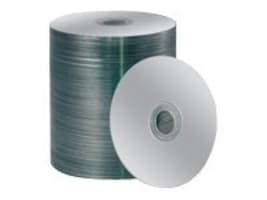 Primera ToughCoat Plus Silver Printable CD-R Media (100-pack Box), 53380, 6319611, CD Media