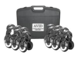 Avid SM-25 Classroom Pack w Carrying Case - Black, 12CPSM25, 16704441, Headphones