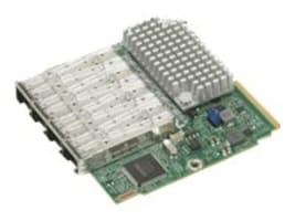 Supermicro 4-Port 10GbE SFP+ SIOM Controller, AOC-MTG-I4S, 33651555, Network Device Modules & Accessories
