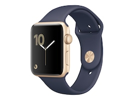 Apple Watch Series 2, 38mm Gold Aluminum Case with Midnight Blue Sport, MQ132LL/A, 33872067, Wearable Technology - Apple