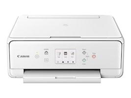 Canon PIXMA TS6020 Wireless Inkjet All-In-One Printer - White, 1368C022, 33535933, MultiFunction - Ink-Jet