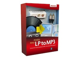 Roxio Easy LP To MP3, 243600, 10459608, Software - Digital Conversion