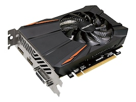 Gigabyte Technology GV-RX550D5-2GD Main Image from Left-angle