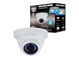 Night Owl 1080p HD Audio Enabled Wired Security Dome Camera, White, CAM-HDA10W-DMA, 32191649, Cameras - Security