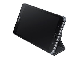 Samsung Book Cover for Tab A 7, Black, EF-BT280PBEGUJ, 31829794, Carrying Cases - Tablets & eReaders