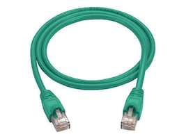 Black Box Cat5e Patch Cable with Molded Boots, Green, 10ft, CAT5EPC-010-GN, 12770395, Cables