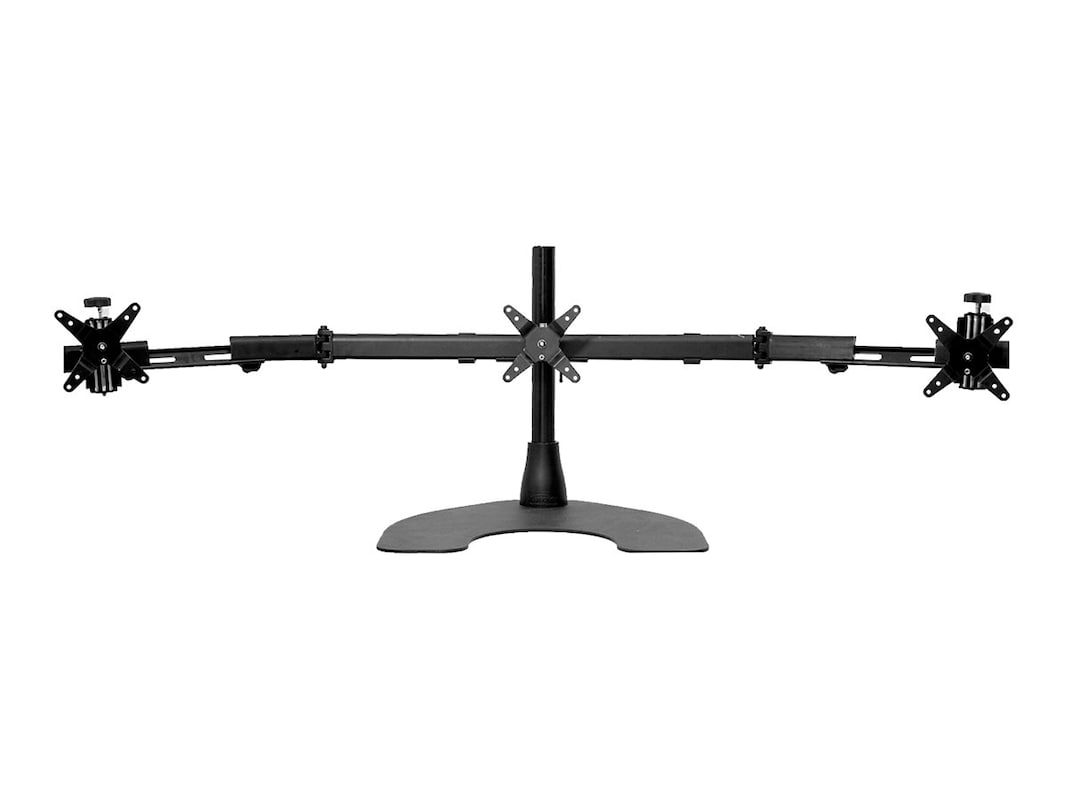 Marvelous Ergotech Triple Monitor Desk Stand W Telescoping Wings Best Image Libraries Weasiibadanjobscom