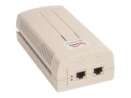 HPE 60W 4pair 802.3at PoE+ 10 100 1000 Indoor Rated Midspan Injector, JW628A, 32963557, PoE Accessories